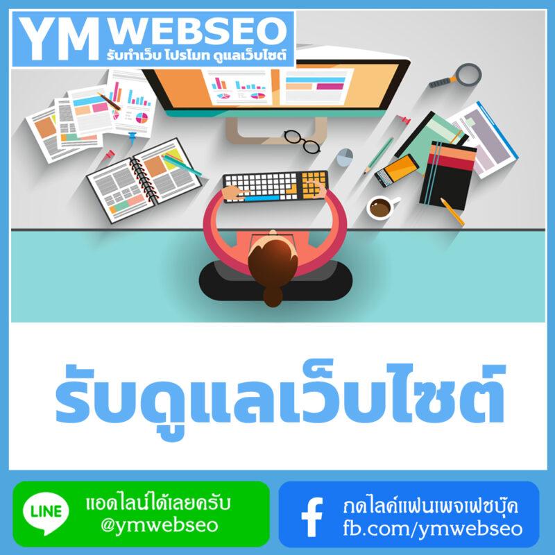 services-รับดูแลเว็บไซต์